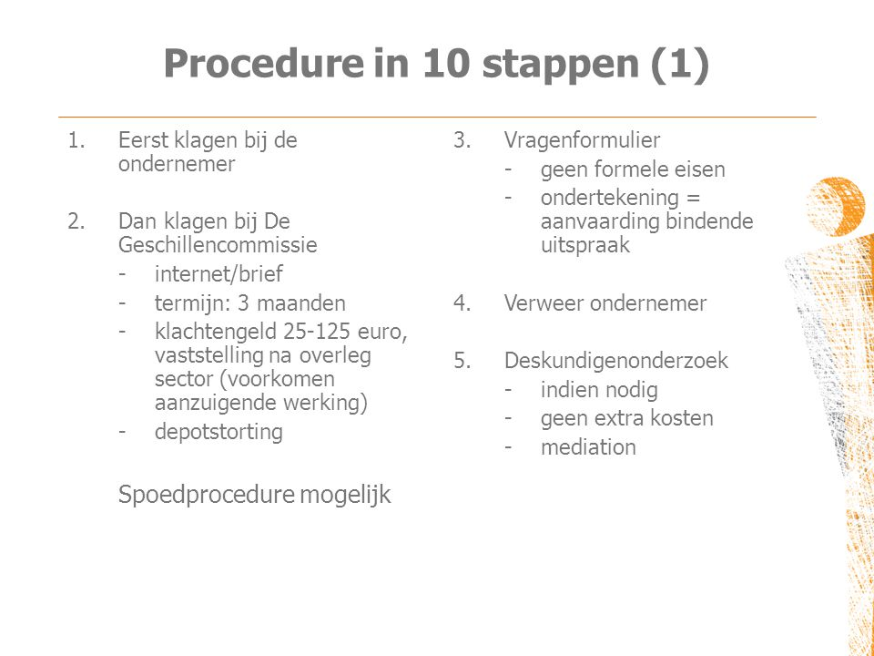 Procedure in 10 stappen (1)
