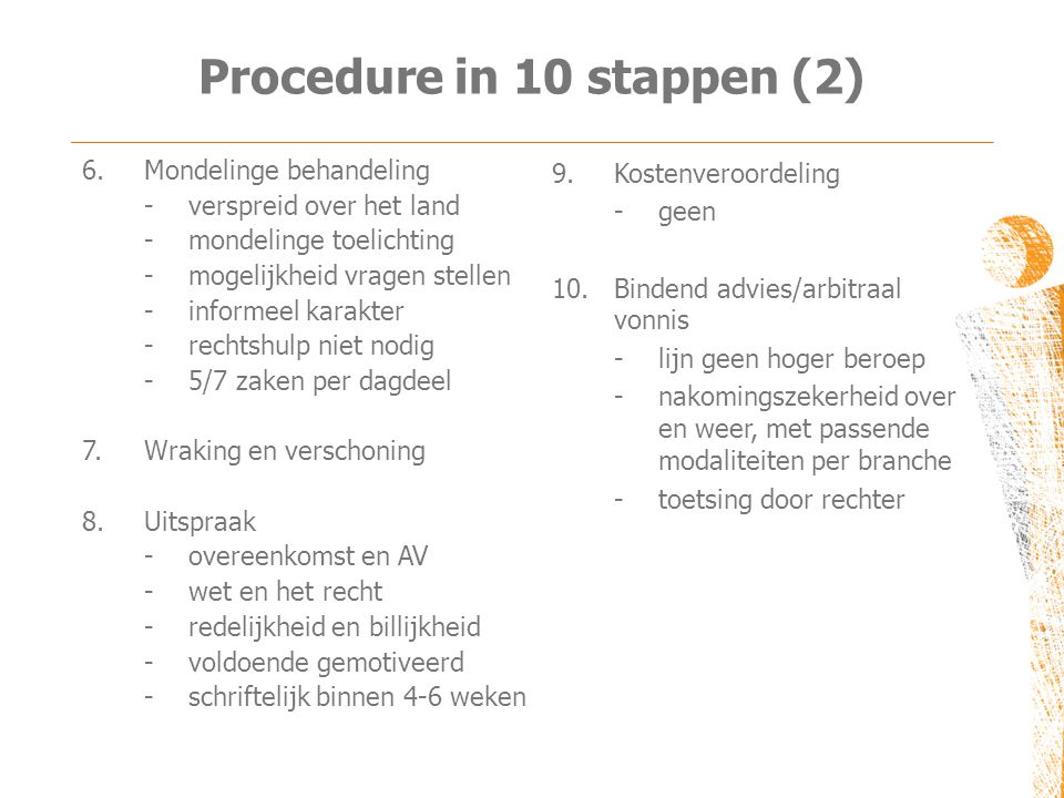 Procedure in 10 stappen (2)