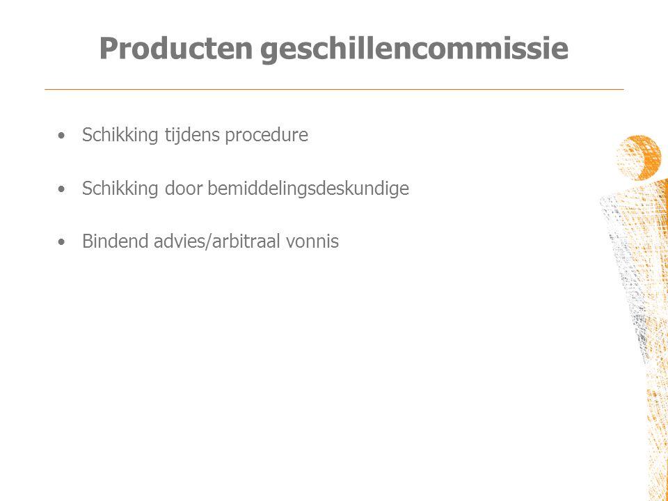 Producten geschillencommissie