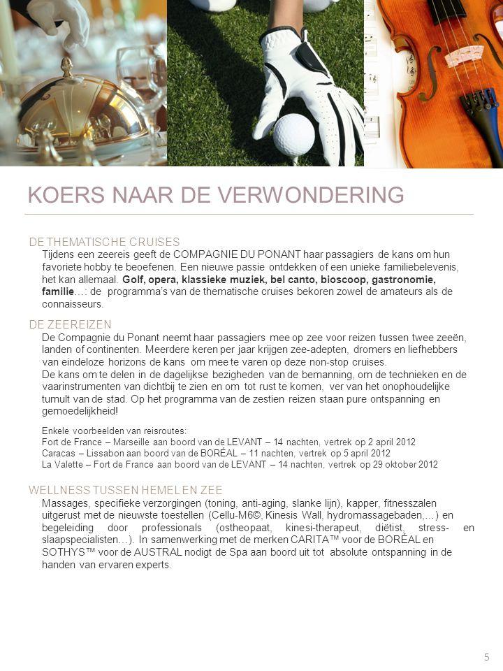 KOERS NAAR DE VERWONDERING