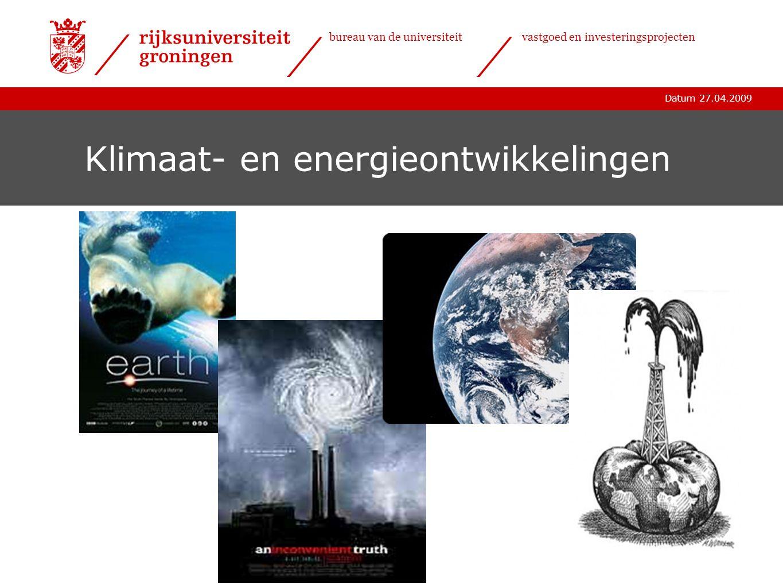 Klimaat- en energieontwikkelingen