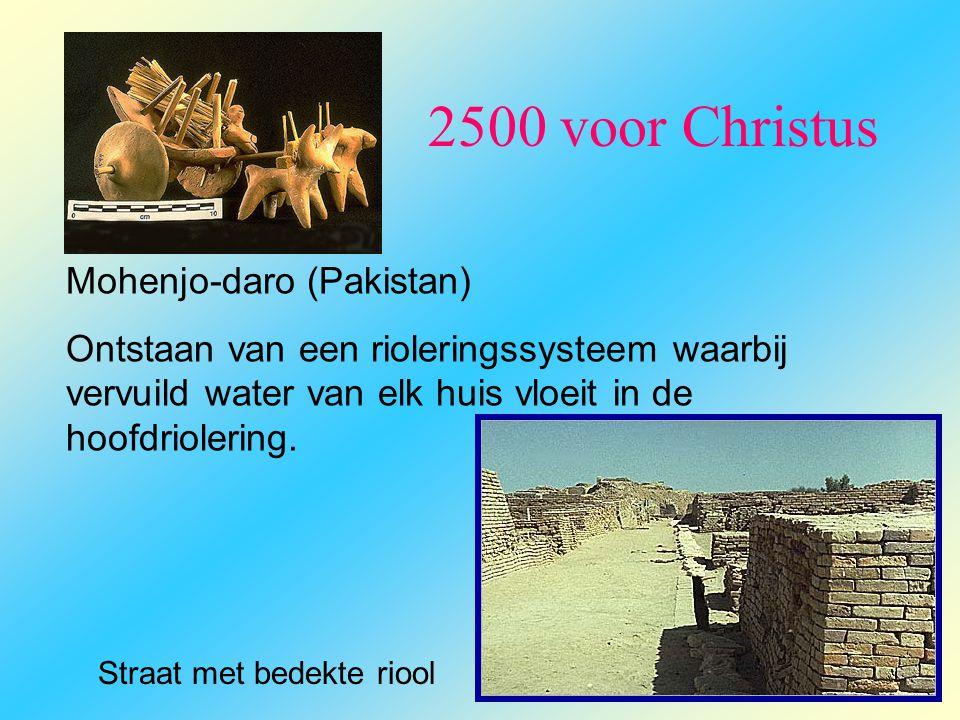 2500 voor Christus Mohenjo-daro (Pakistan)