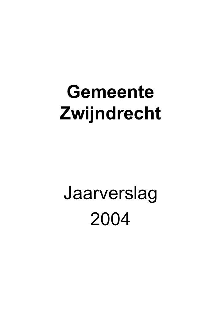 Gemeente Zwijndrecht Jaarverslag 2004
