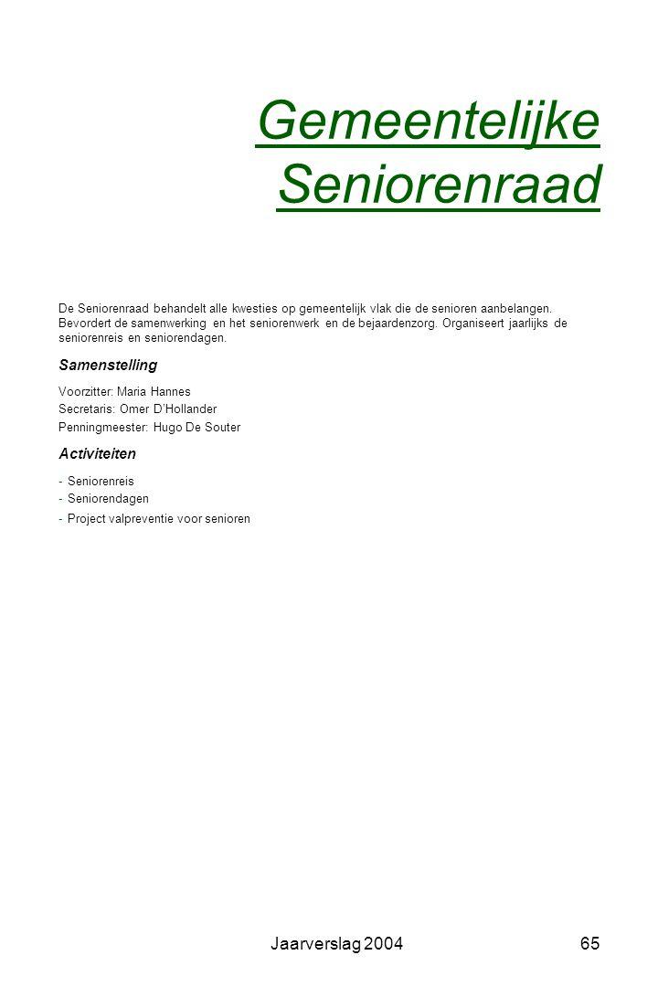Gemeentelijke Seniorenraad