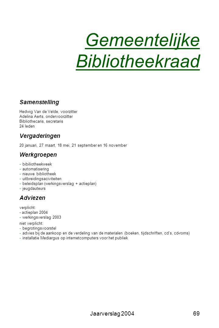 Gemeentelijke Bibliotheekraad