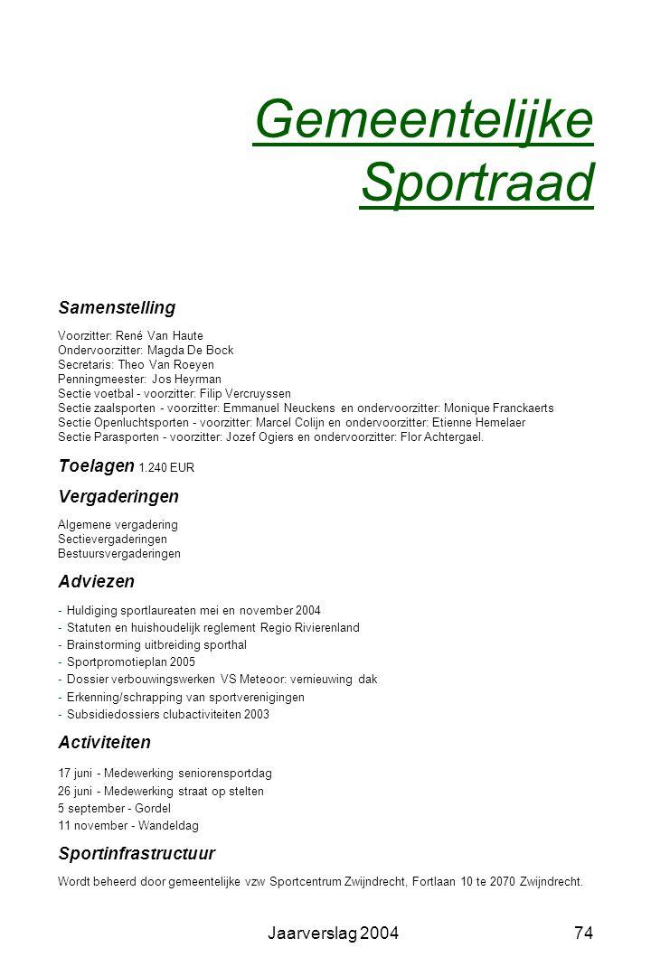 Gemeentelijke Sportraad