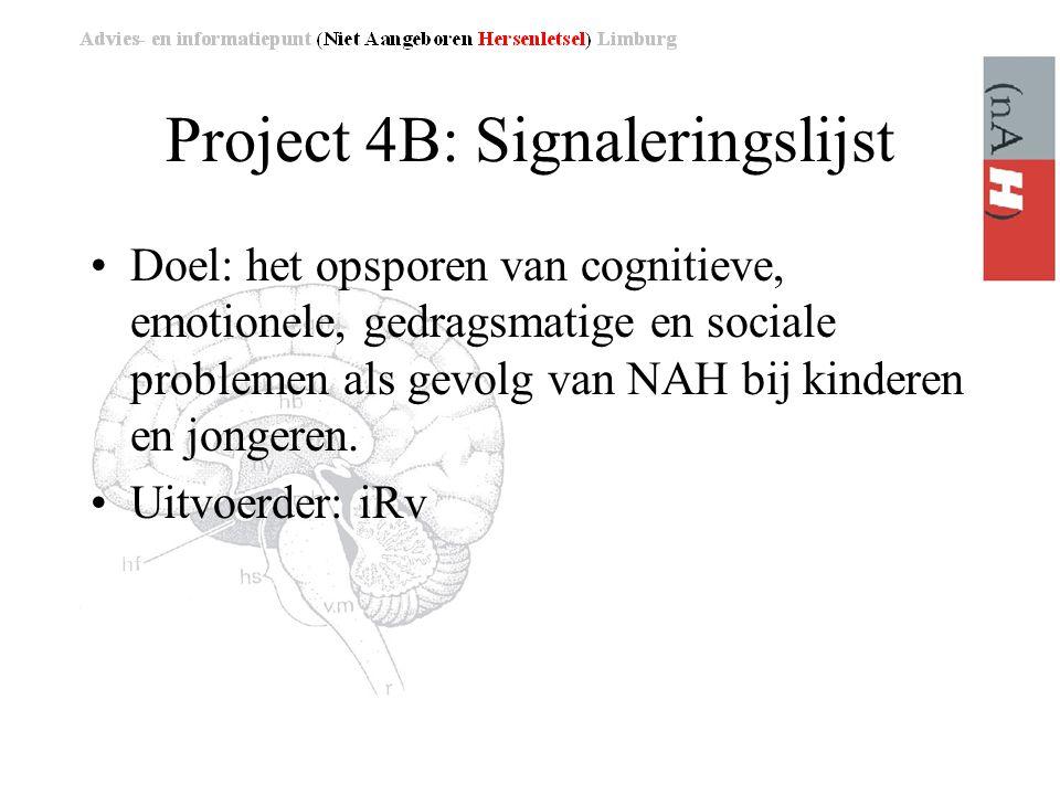 Project 4B: Signaleringslijst