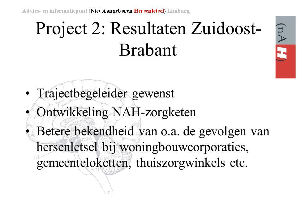 Project 2: Resultaten Zuidoost-Brabant