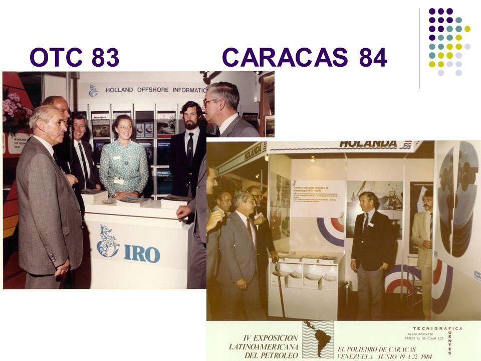 OTC 83 CARACAS 84 Huiskes, van Erven Dorens 35 JAAR IRO