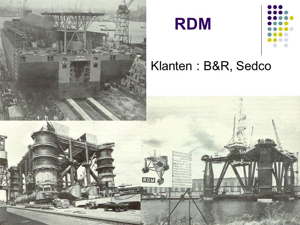 RDM Klanten : B&R, Sedco 35 JAAR IRO