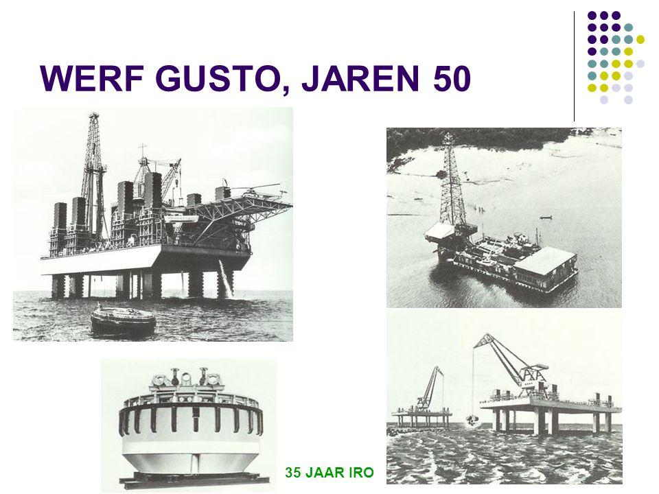 WERF GUSTO, JAREN 50 35 JAAR IRO