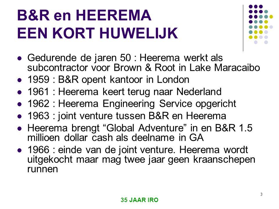 B&R en HEEREMA EEN KORT HUWELIJK