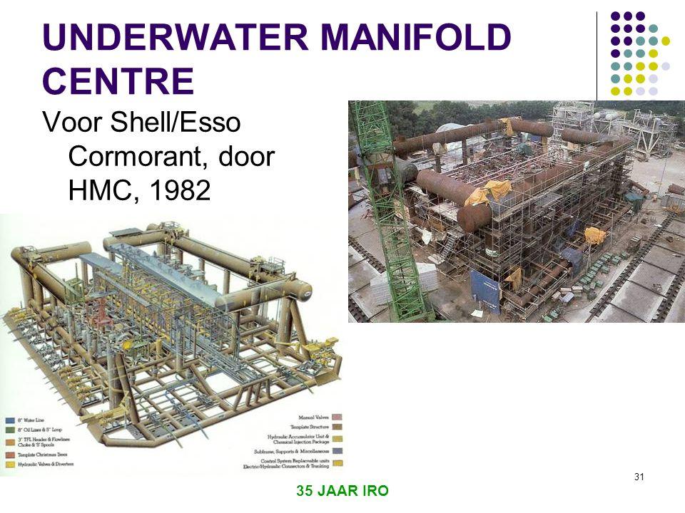 UNDERWATER MANIFOLD CENTRE