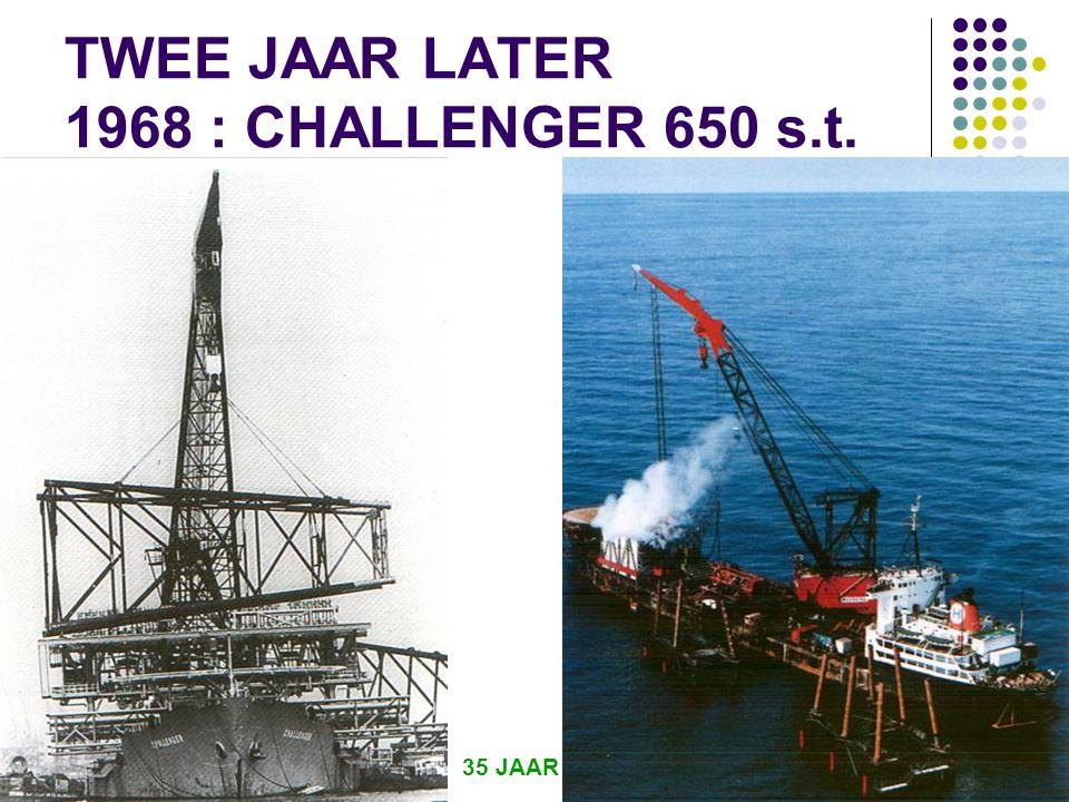 TWEE JAAR LATER 1968 : CHALLENGER 650 s.t.