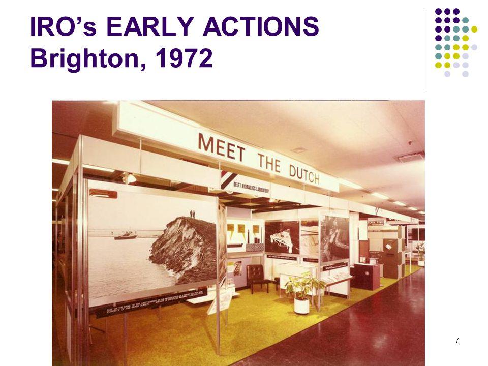 IRO's EARLY ACTIONS Brighton, 1972