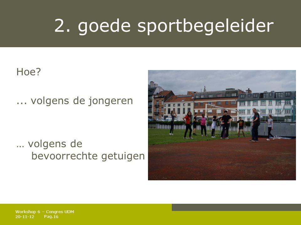 2. goede sportbegeleider