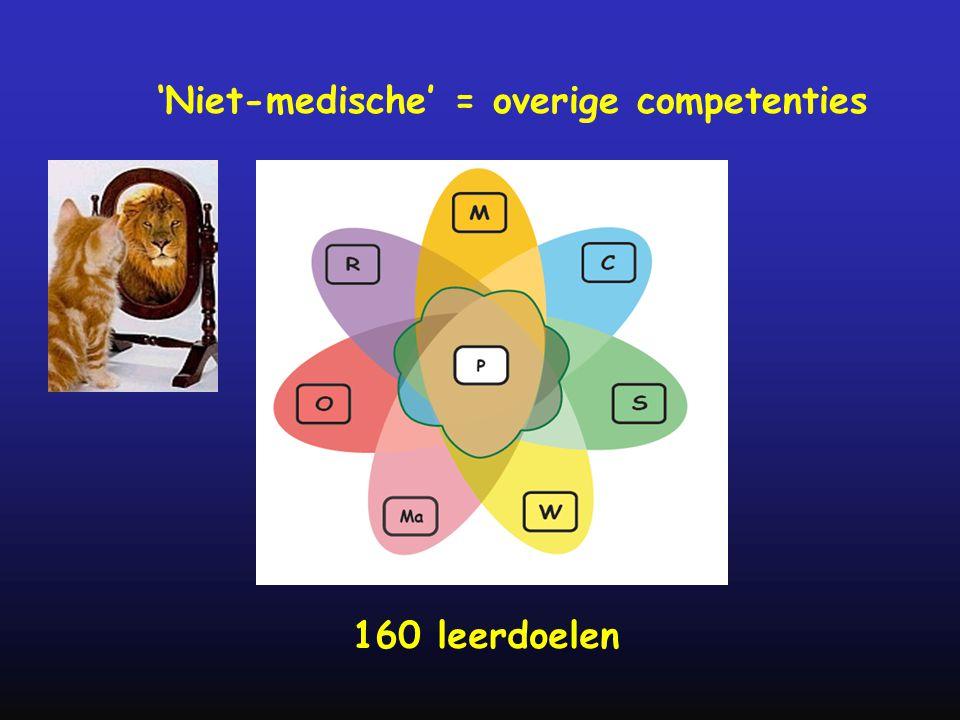 'Niet-medische' = overige competenties