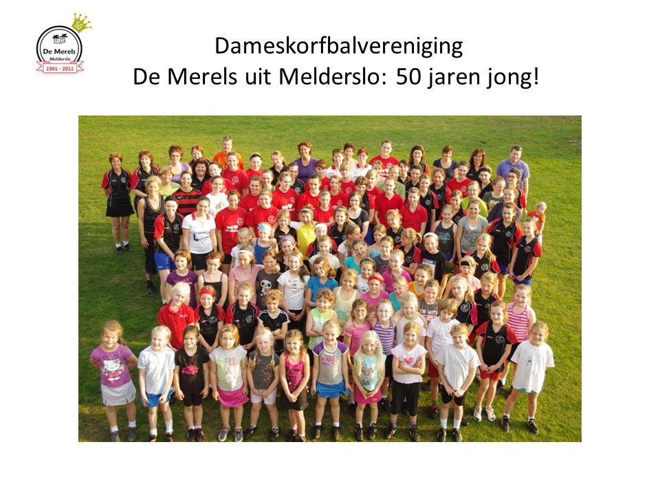 Dameskorfbalvereniging De Merels uit Melderslo: 50 jaren jong!