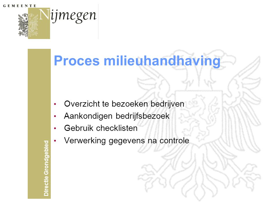 Proces milieuhandhaving