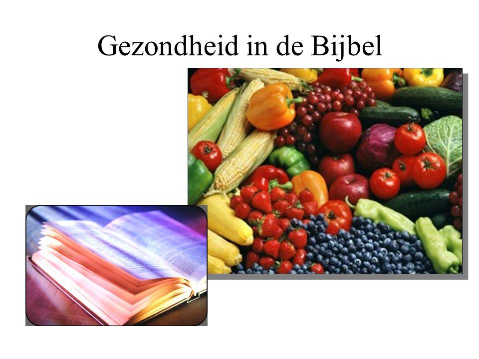 Gezondheid in de Bijbel