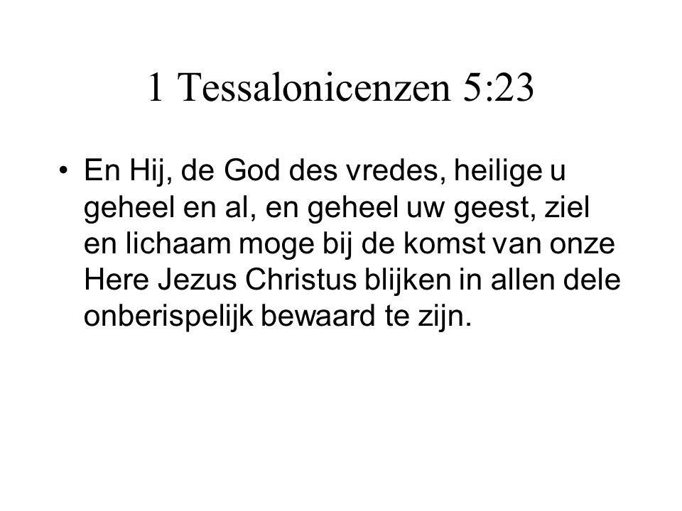 1 Tessalonicenzen 5:23