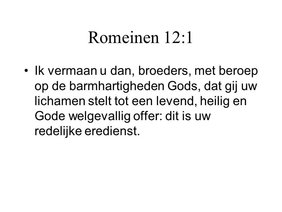Romeinen 12:1