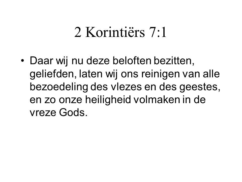 2 Korintiërs 7:1