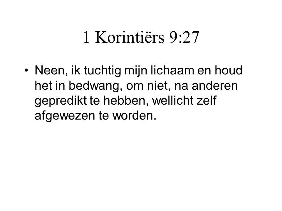 1 Korintiërs 9:27