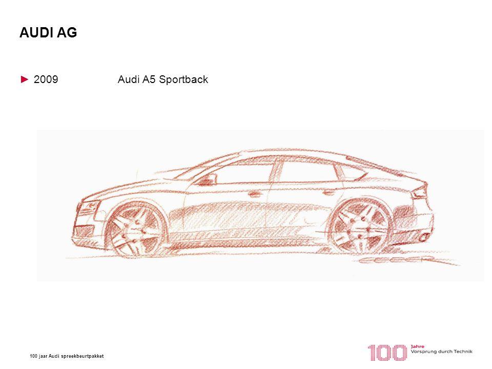 AUDI AG 2009 Audi A5 Sportback Tokio Motorshow 1993