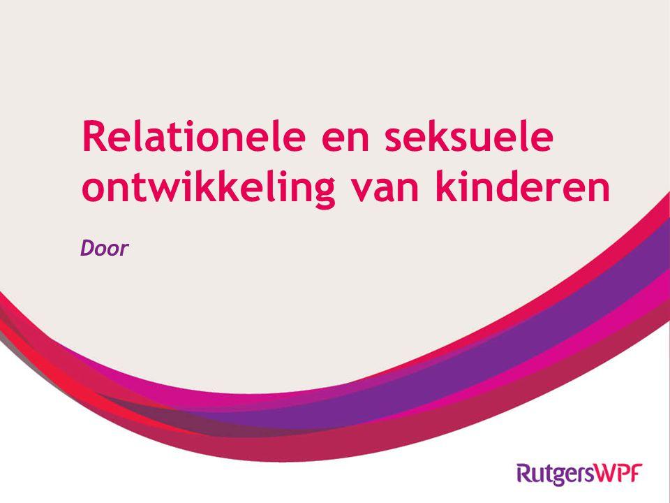 Relationele en seksuele ontwikkeling van kinderen