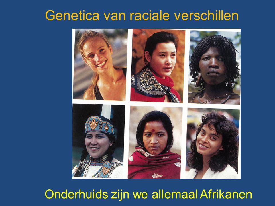 Genetica van raciale verschillen