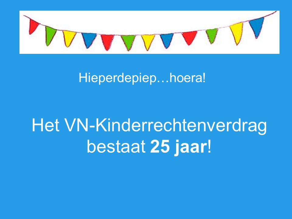 Het VN-Kinderrechtenverdrag bestaat 25 jaar!