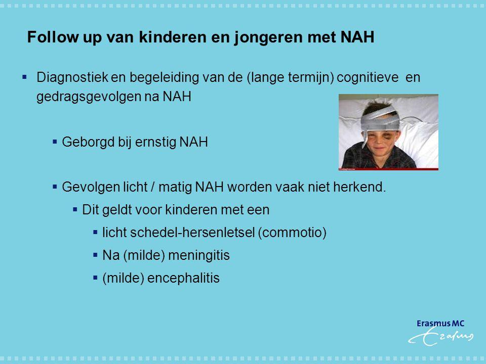 Follow up van kinderen en jongeren met NAH
