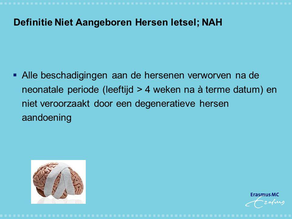 Definitie Niet Aangeboren Hersen letsel; NAH
