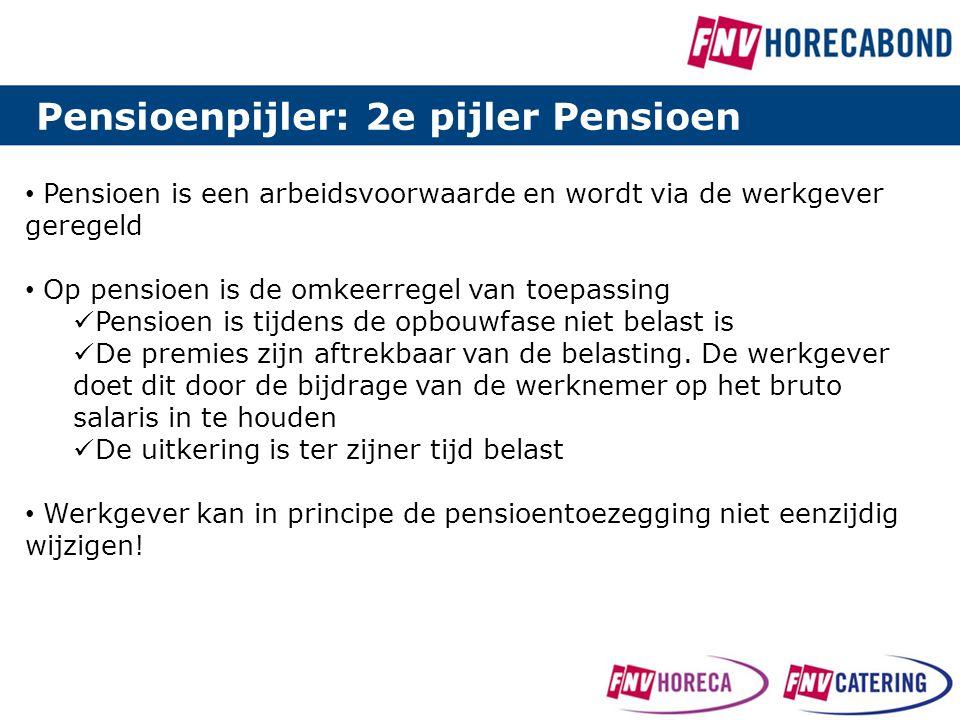 Pensioenpijler: 2e pijler Pensioen