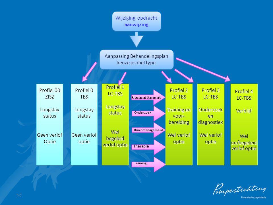 Aanpassing Behandelingsplan keuze profiel type