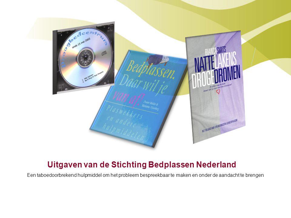 Uitgaven van de Stichting Bedplassen Nederland