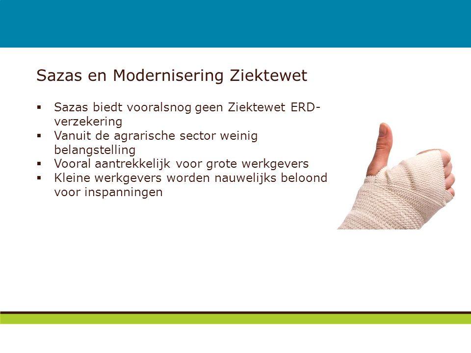 Sazas en Modernisering Ziektewet