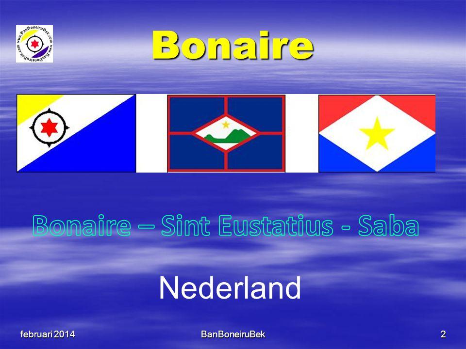 Bonaire – Sint Eustatius - Saba