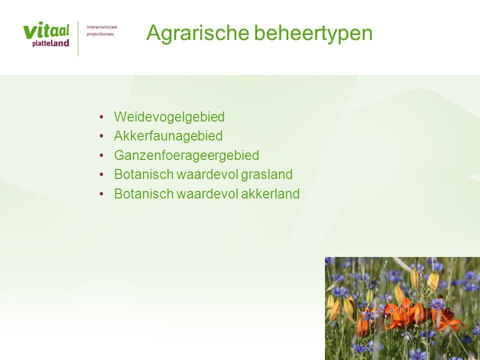 Agrarische beheertypen
