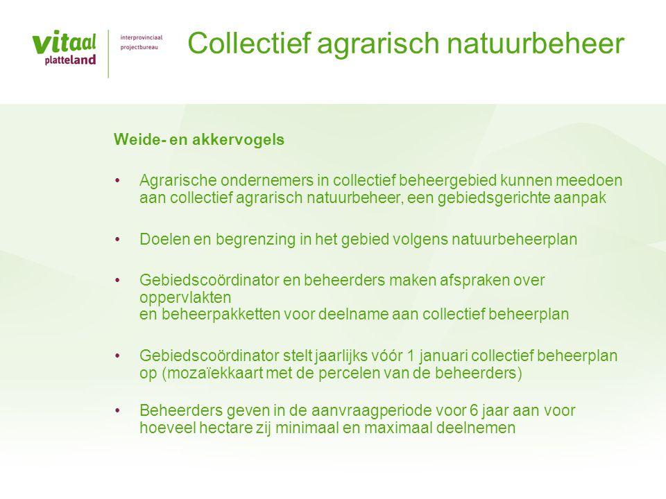 Collectief agrarisch natuurbeheer