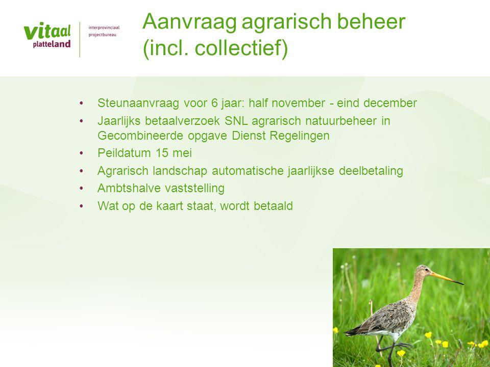 Aanvraag agrarisch beheer (incl. collectief)