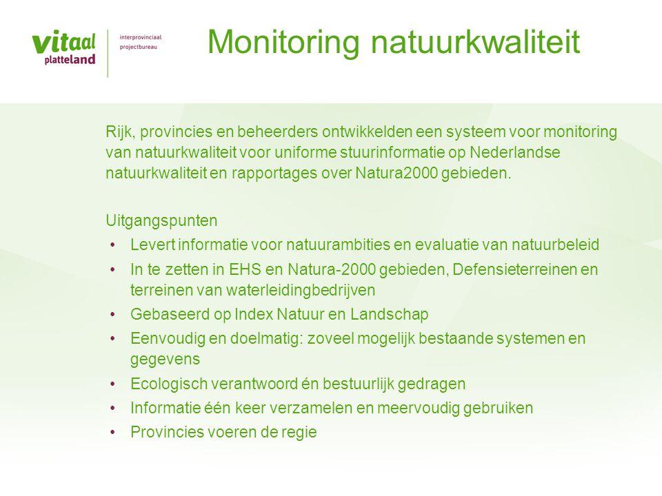 Monitoring natuurkwaliteit