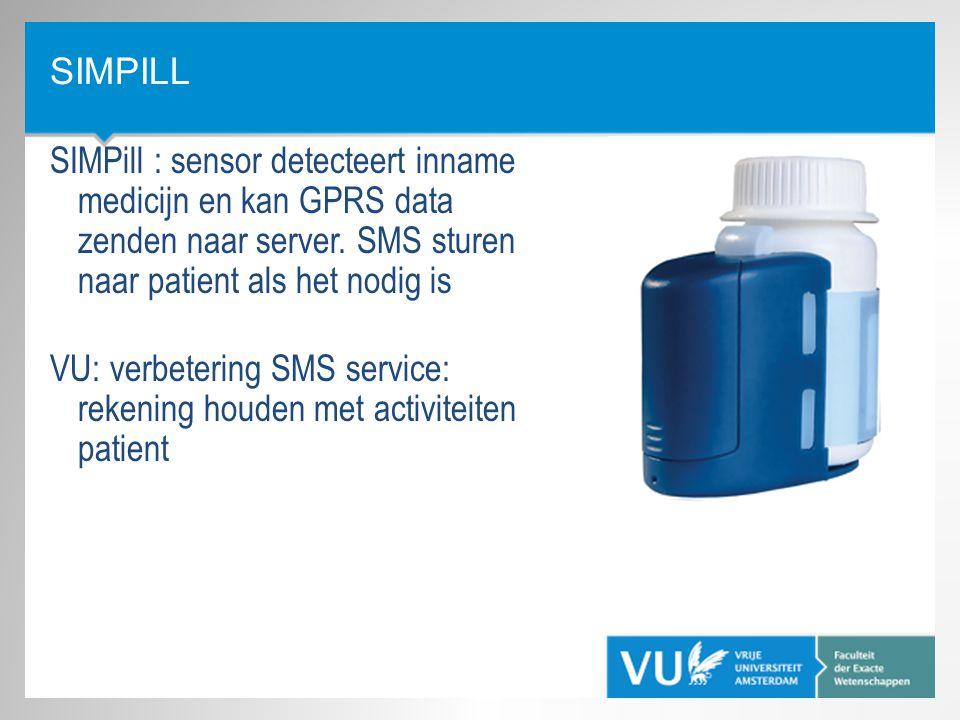 VU: verbetering SMS service: rekening houden met activiteiten patient