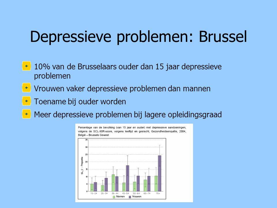 Depressieve problemen: Brussel