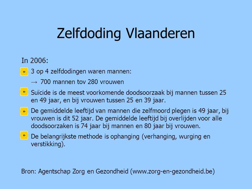 Zelfdoding Vlaanderen
