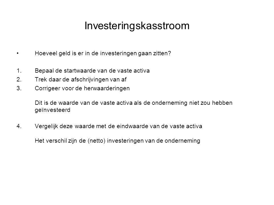 Investeringskasstroom