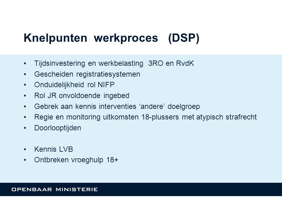 Knelpunten werkproces (DSP)