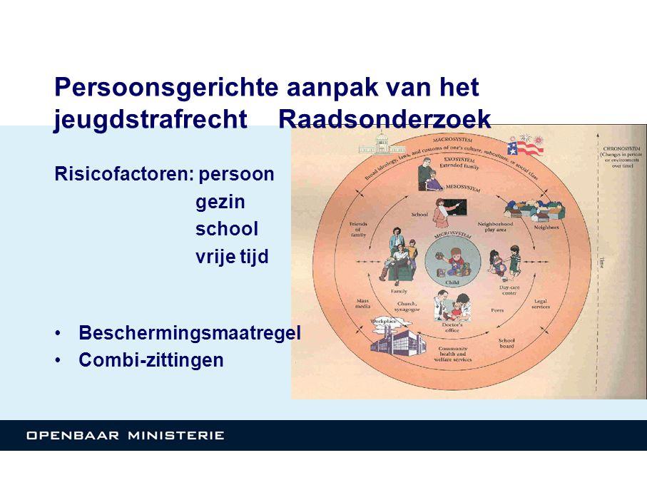 Persoonsgerichte aanpak van het jeugdstrafrecht Raadsonderzoek