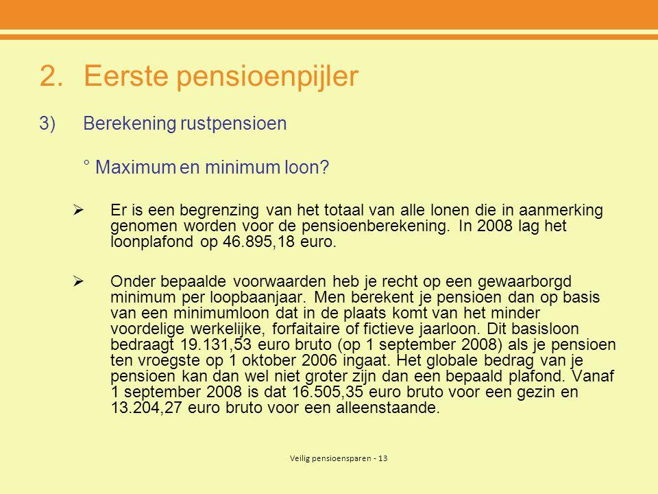 Eerste pensioenpijler